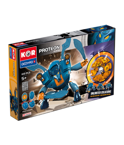 Magnetic KOR Proteon Blatta construction toys 103 pc
