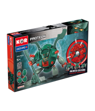 Magnetic KOR Proteon Swomp construction toys 103 pc