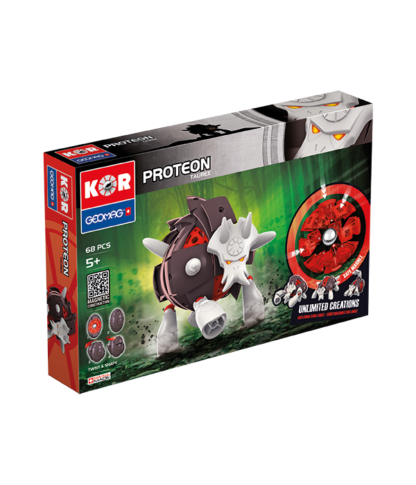 Magnetic KOR Proteon Taurex construction toys 68pc