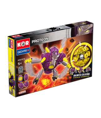 Magnetic KOR Proteon Vulkram construction toys 103 pc