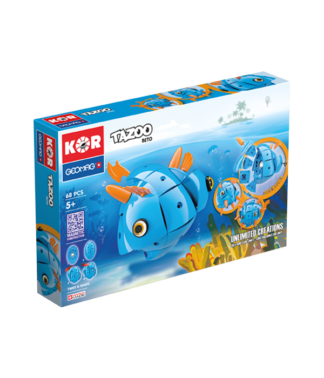 Magnetic KOR Tazoo Beto construction toys 68pc