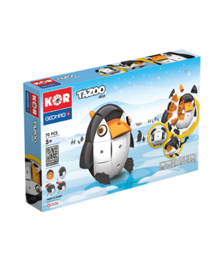 Magnetic KOR Tazoo Jelo construction toys 70pc