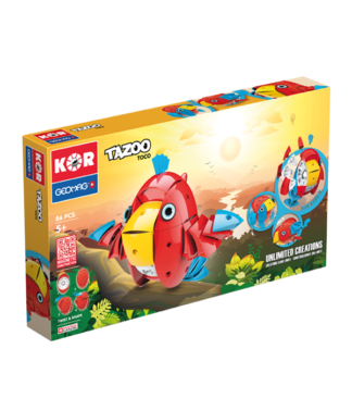 Magnetic KOR Tazoo Toco construction toys 86pc