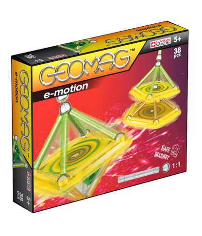 Magnetic E-motion construction toys 38pc